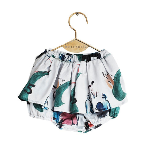 Wolf and Rita | Leonor Skirt Bloomer - L'Art | The Mini Life
