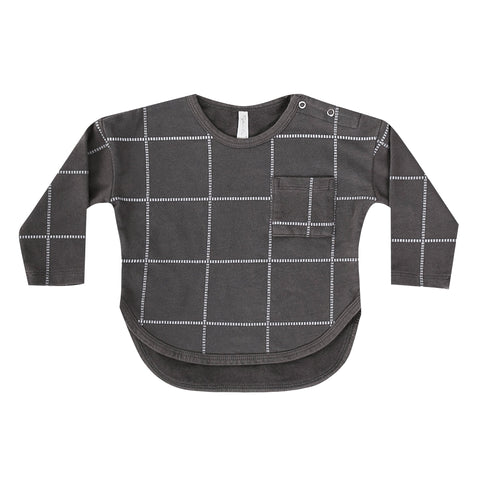 Rylee + Cru - Grid Long Sleeve Tee