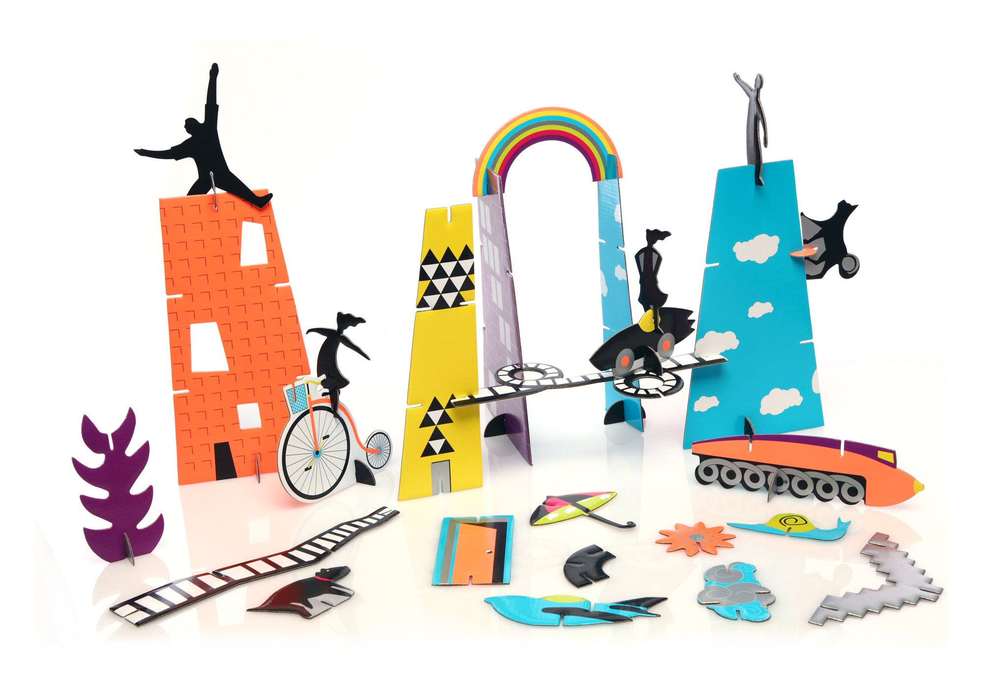 Mon Petit Art - City of Dreams Construction Kit