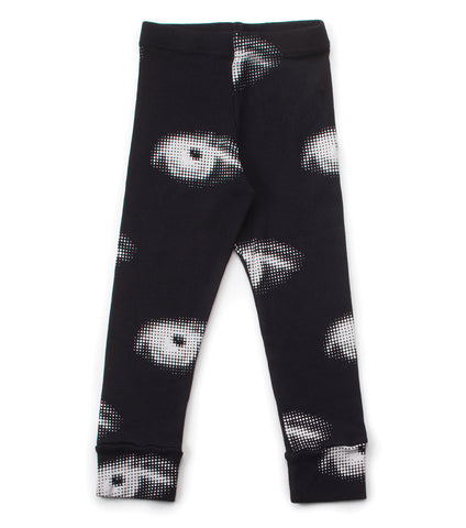 Nununu Eye Leggings - Black