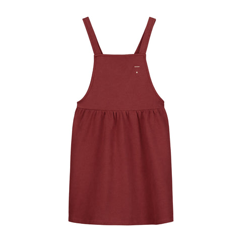 Gray Label Burgundy Pinafore Dress