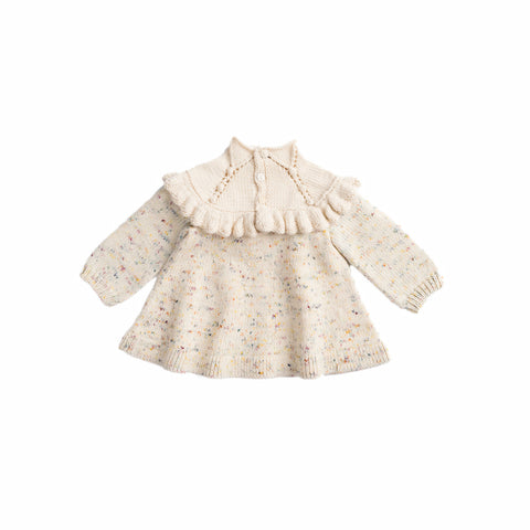 Misha & Puff Confetti Cake Ruffle Tunic Dress