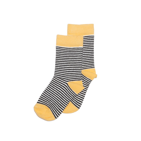 Mingo Kids - Striped Socks Ochre