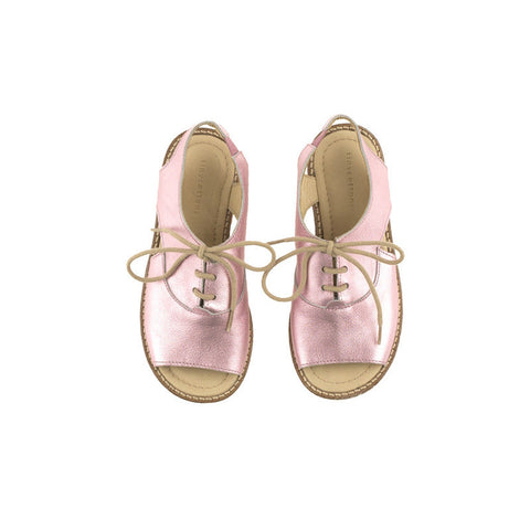 Tiny Cottons | Metallic Pink Sandals | The Mini Life