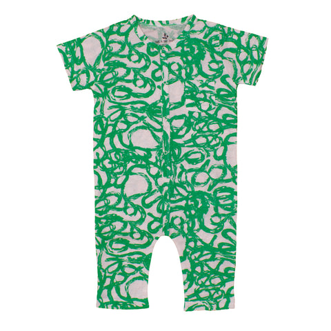 Noe and Zoe SS17 | Green Snake Harem Overall | The Mini Life, Canada