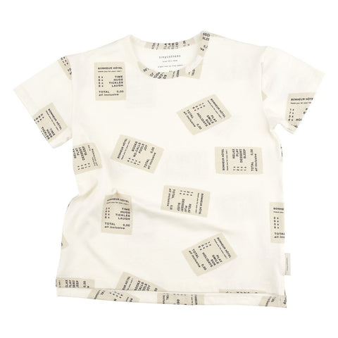 TINY COTTONS - Ticket Tee