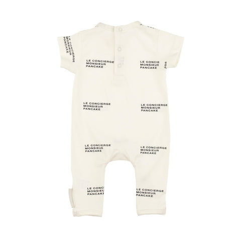 TINY COTTONS - Le Concierge Short Sleeve Long Onepiece
