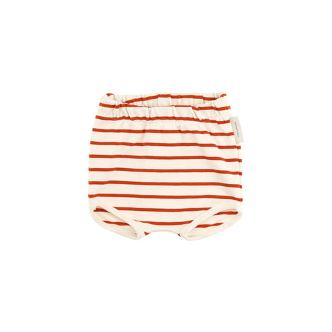 Tiny Cottons - Red Small Stripes Bloomer