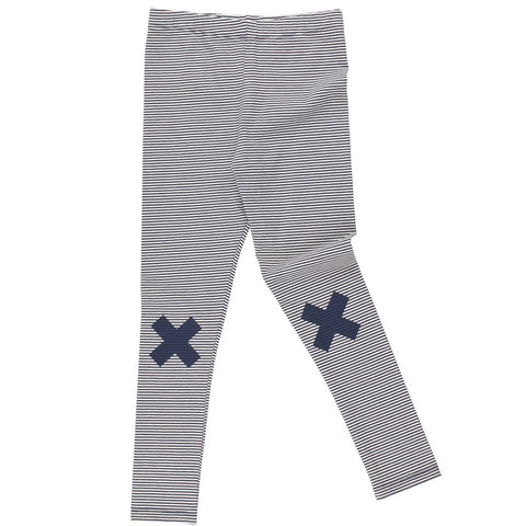 TINY COTTONS - Multi Lines Logo Pant