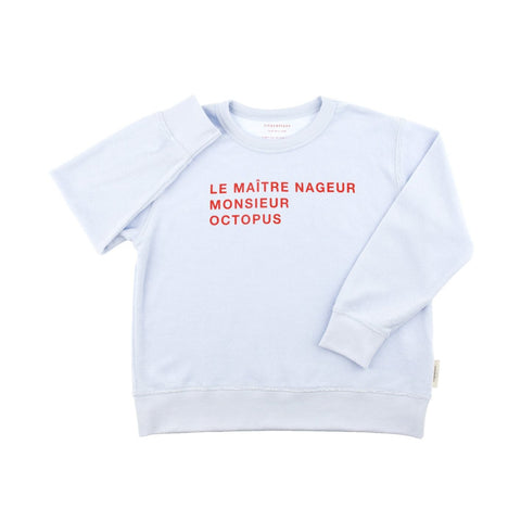 Tiny Cottons - Le Maitre Nageur Towel Sweatshirt