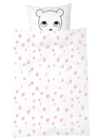 Owl Baby Bed Linen - Cream