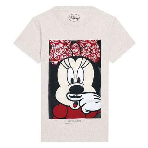 Little Eleven Paris x Disney Collection | Minnie Mouse Life is A Joke Tee | The Mini Life, Canada