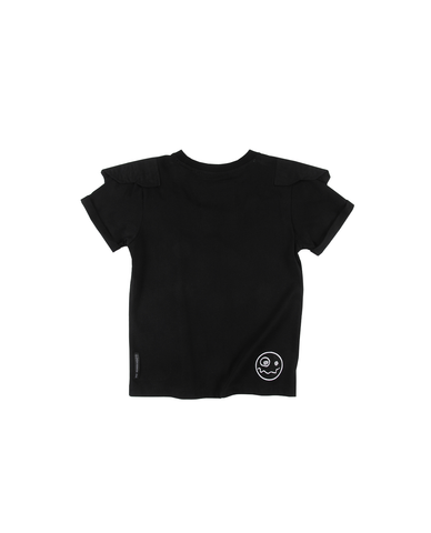 Loud Apparel | Ariel Wings Tee - Black | The Mini Life