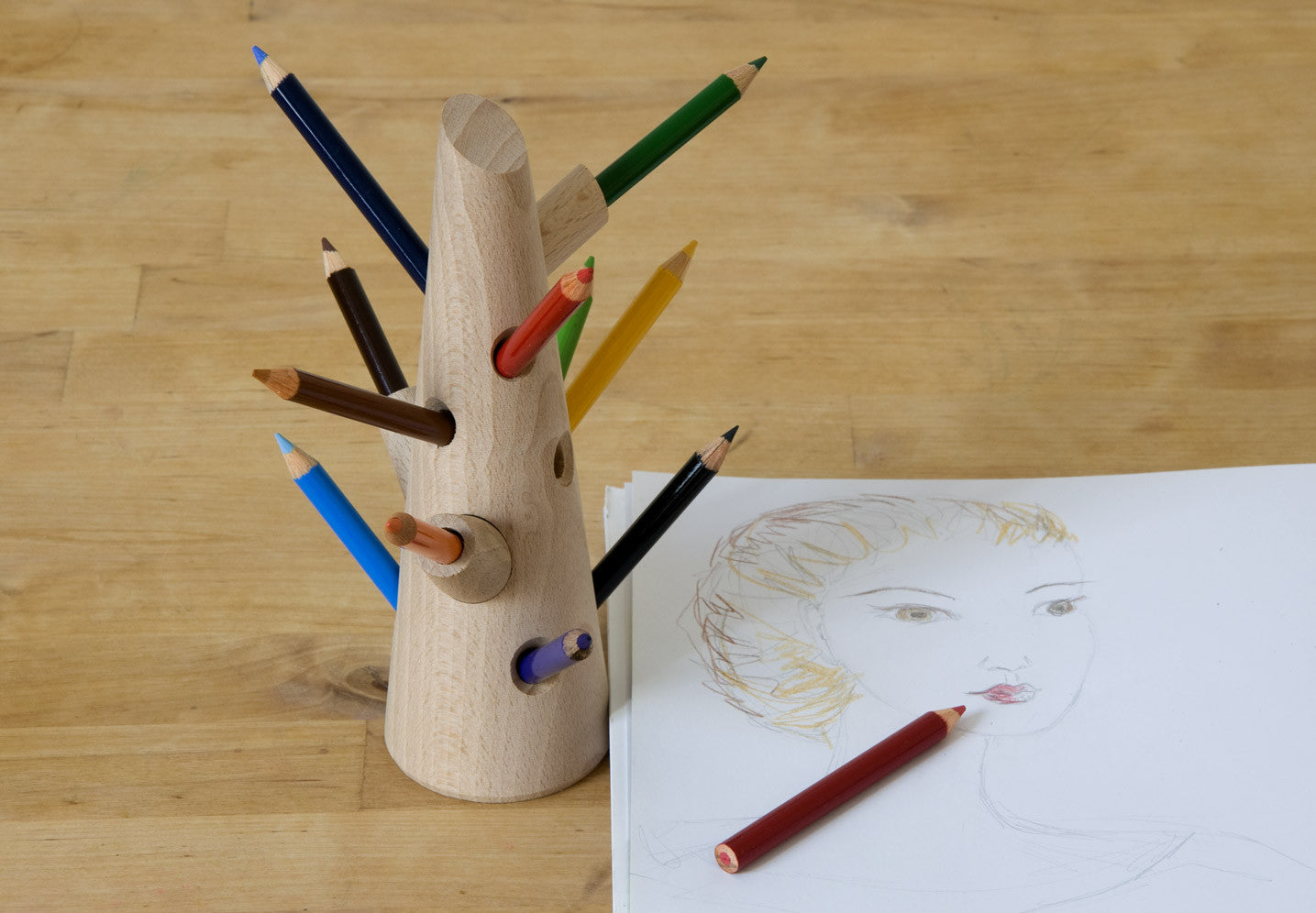 Mon Petit Art - Pencil Tree