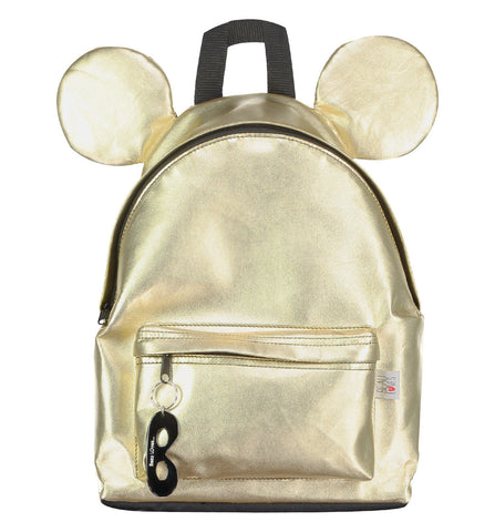 Beau Loves | Gold Backpack with Ears | The Mini Life
