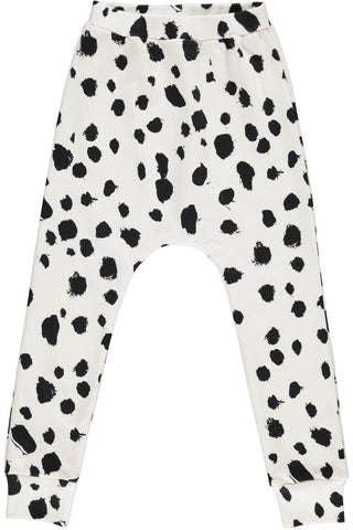 Popupshop Kids | White Leo Baggy Leggings | The Mini Life, Canada