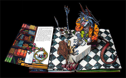 Beauty and the Beast Pop Up Book by Robert Sabuda