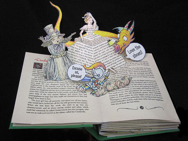 Dragon and the Knight Pop Up Book by Robert Sabuda