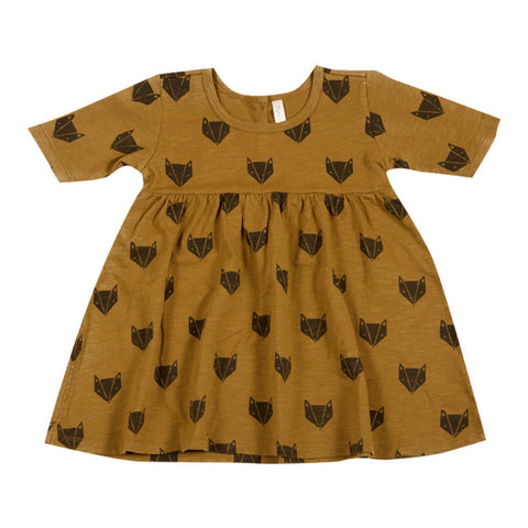 Rylee and Cru Fox Dress - Ginger