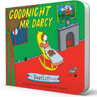 BabyLit | Goodnight Mr Darcy Board Book | www.theminilife.com