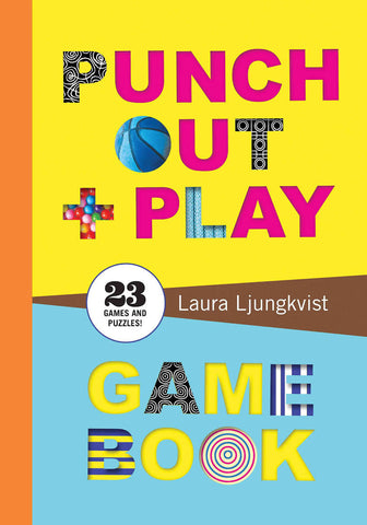 Chronicle Books - Punch Out and Play Game Book | The Mini Life