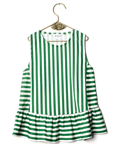 Wolf & Rita Julietta Top - Green Stripes