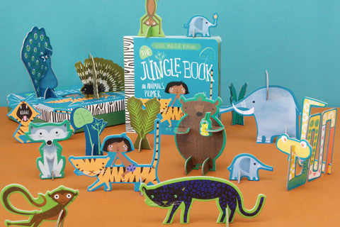 BabyLit | The Jungle Book Board Book & Playset | www.theminilife.com