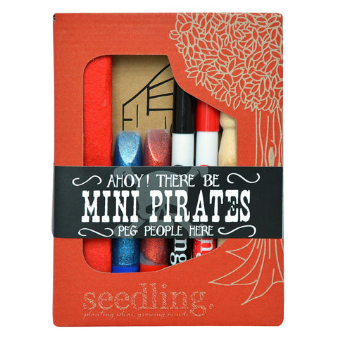 Seedling Activity Kit | Ahoy Mini pirates Peg People