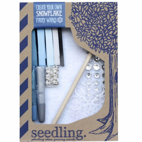 Seedling Activity Kit | Create Your Own Snowflake Fairy Wand