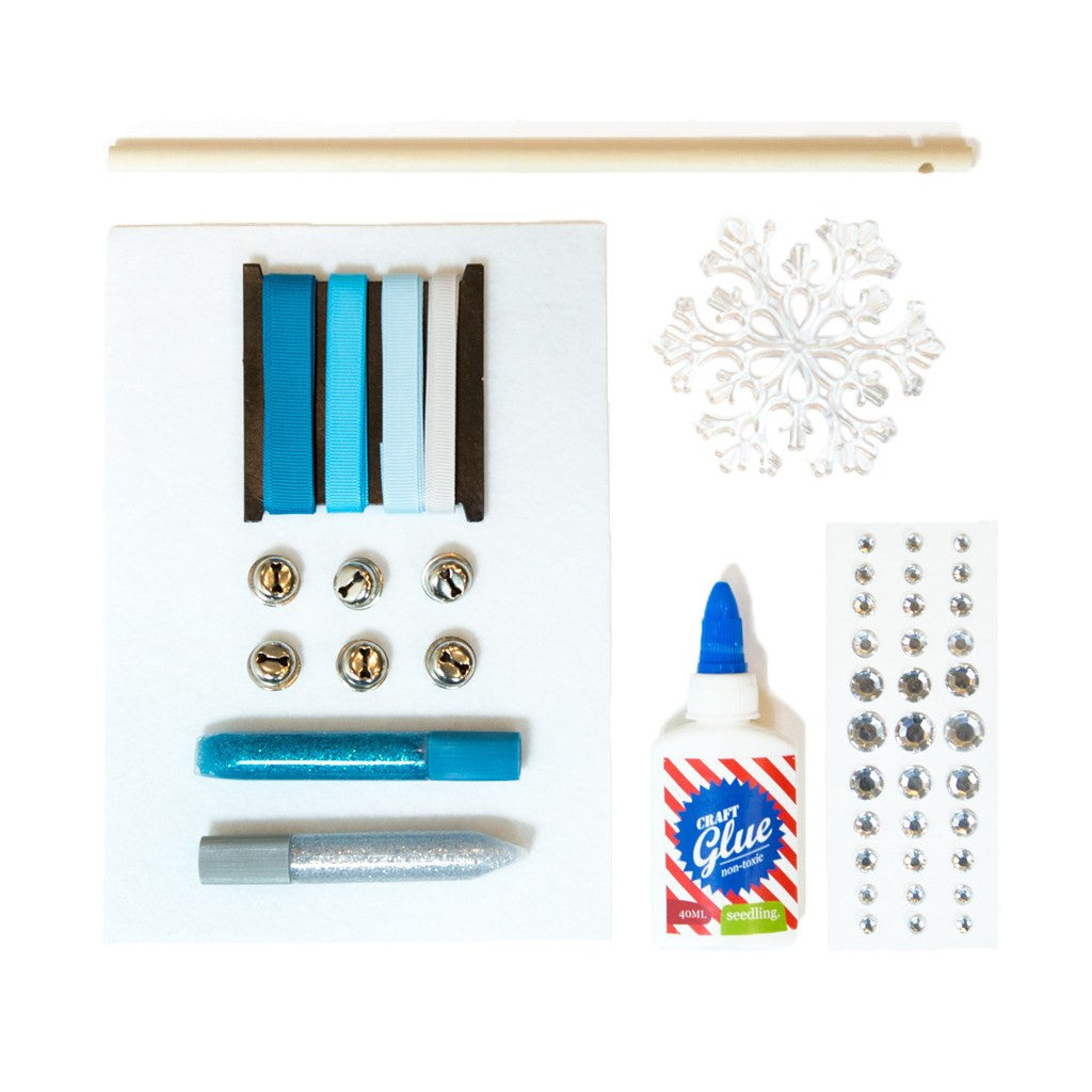 Seedling activity kit create your own snowflake fairy wand for Wand making kit