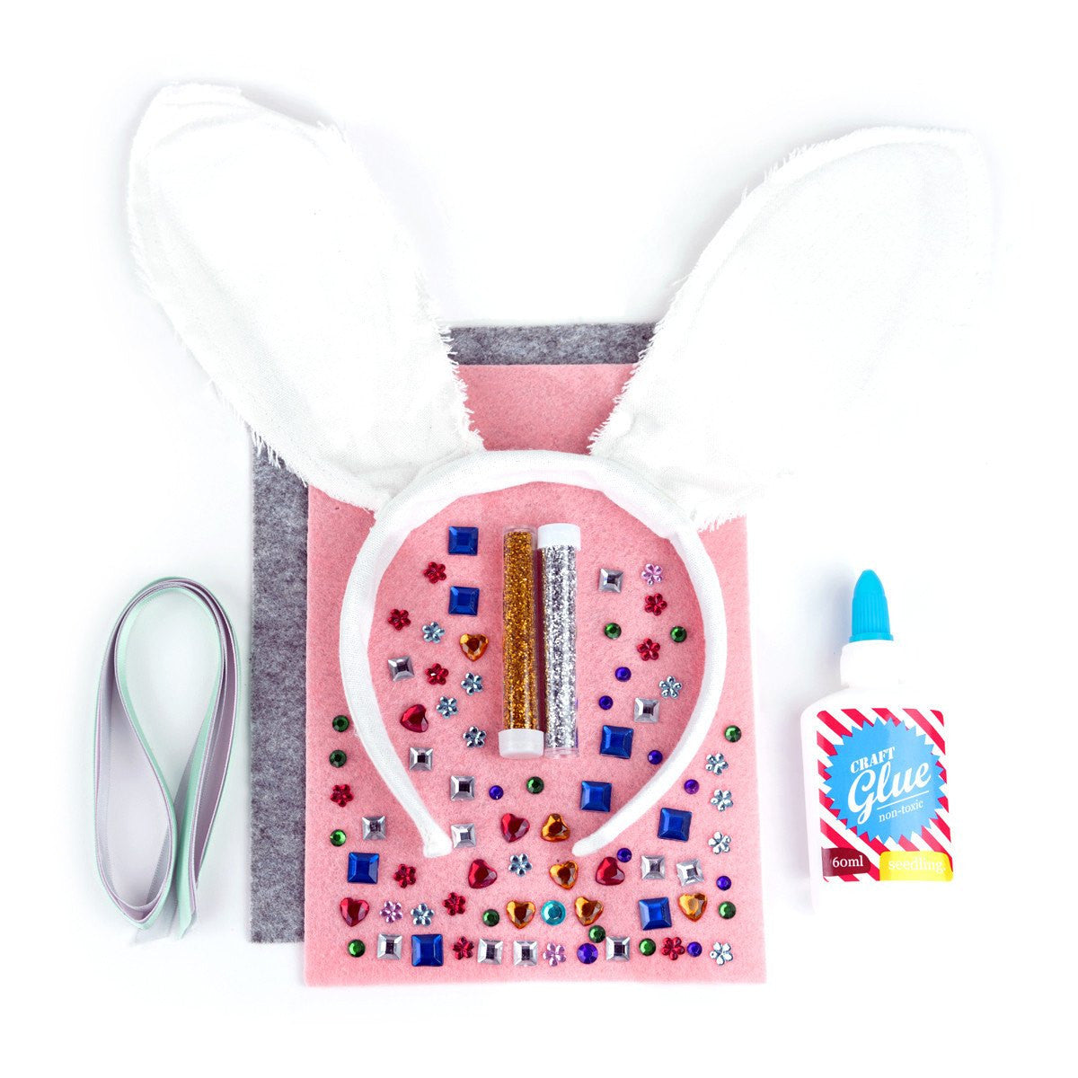 Seedling Activity Kit - Make Your Own Sparkle Bunny Ears