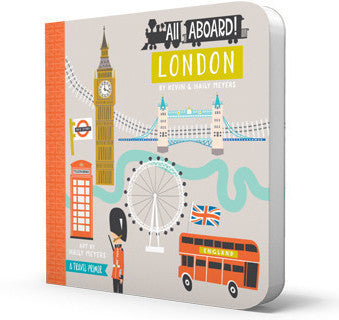 BabyLit | All Aboard! London Board Book | www.theminilife.com