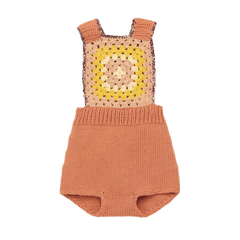 MISHA & PUFF - Clay Sandcastle Sunsuit
