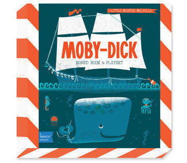 BabyLit | Moby Dick Board Book & Playset | www.theminilife.com