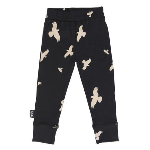 Moi Kidz | Black Raven Leggings | The Mini Life, Canada