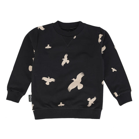 Moi | Black Raven OV Sweater | The Mini Life, Canada