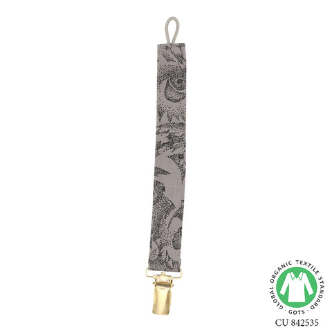 Soft Gallery Owl Pacifier Clip Drizzle - The Mini Life