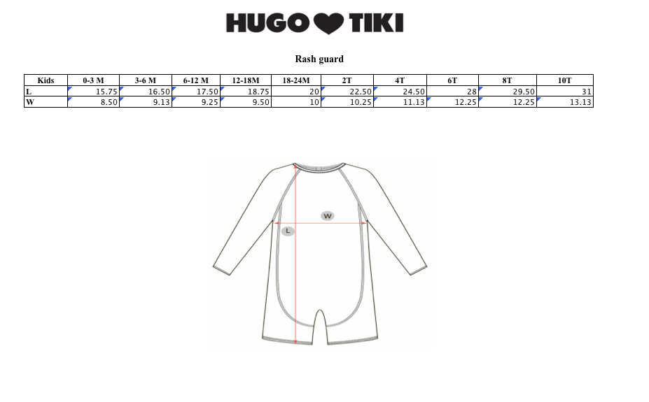 Unicorn Rash Guard | Hugo Loves Tiki | The Mini Life