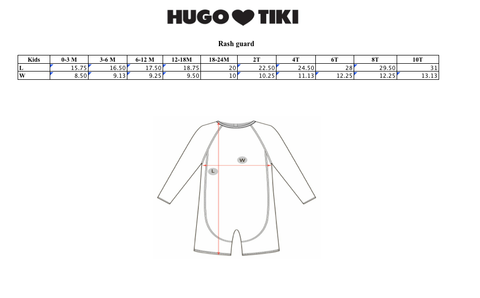 Rad Rash Guard | Hugo Loves Tiki | The Mini Life