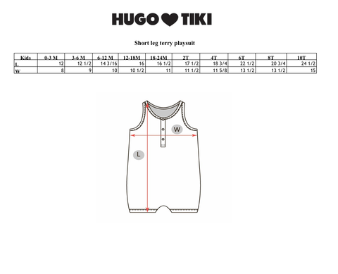 Hugo Loves Tiki SS17 | Rad Terry Playsuit | The Mini Life, Canada