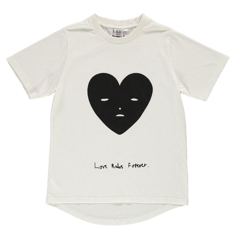 Beau Loves | Loveheart Face Fin Tee | The Mini Life
