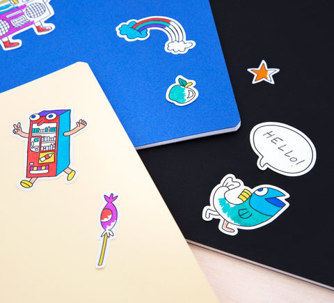 Omy | Coloring Stickers