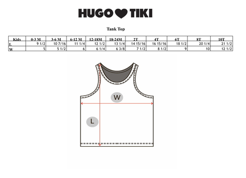 Hugo Loves Tiki SS17 | Chocolate Gelato Tank Top | The Mini Life, Canada