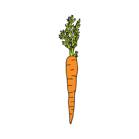 tattly | carrot temporary tattoo | www.theminilife.com