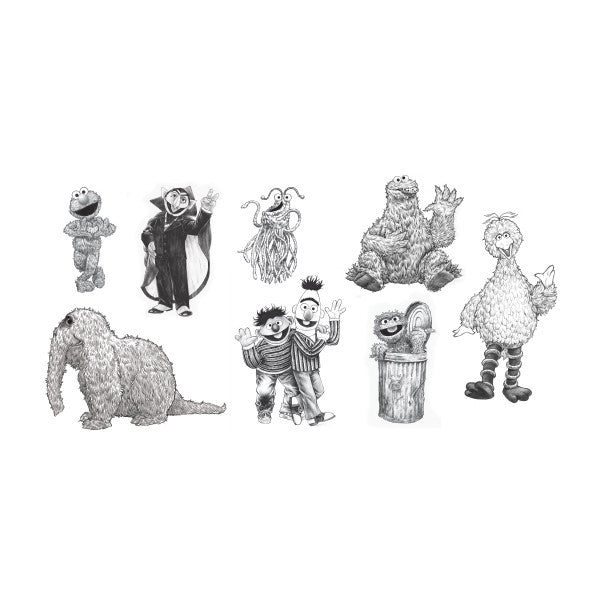 Tattly Designy Temporary Tattoos | Sesame Street Nostalgia Set | www.theminilife.com