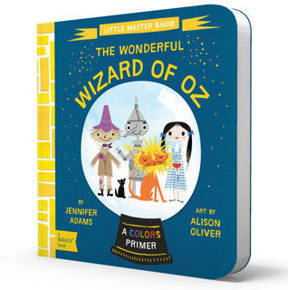 BabyLit | Wonderful Wizard of Oz Board Book | www.theminilife.com