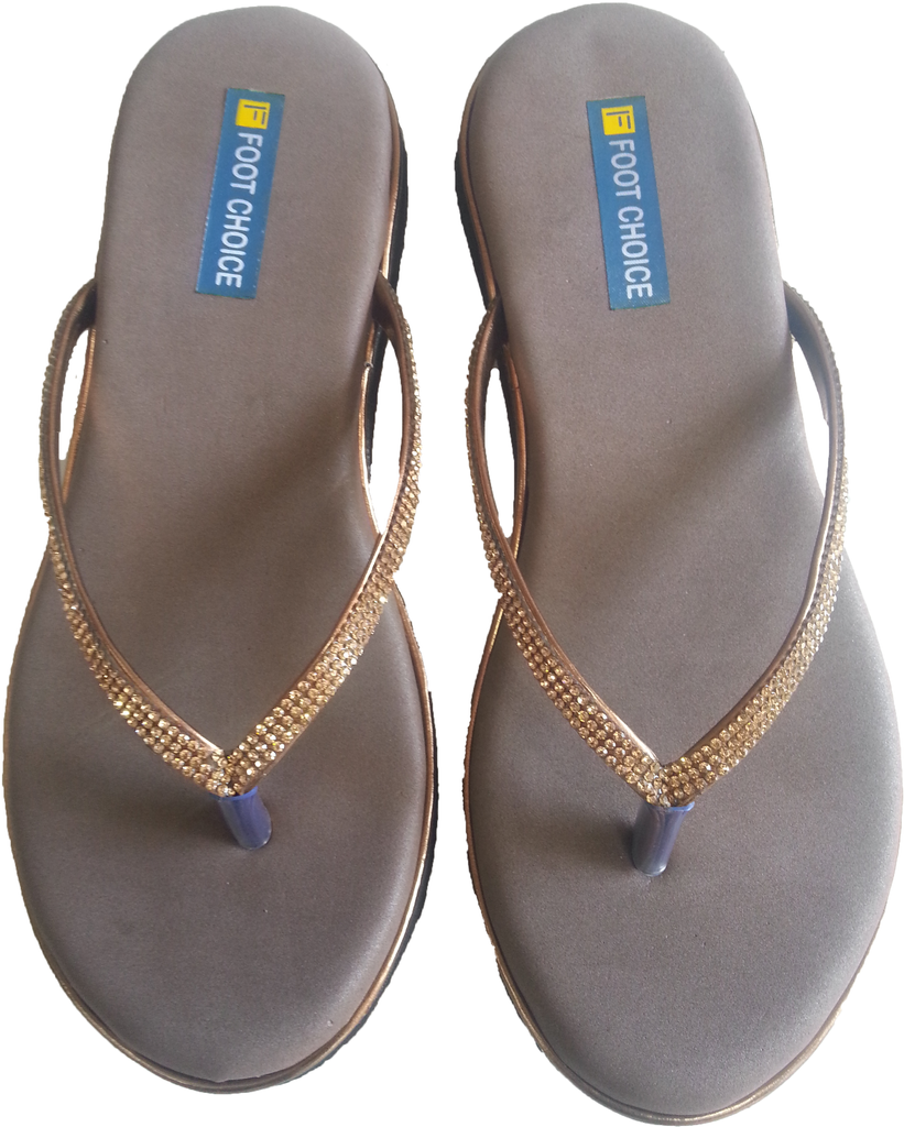 456903cf2e41a MCR Chappals for heel pain for Ladies - Cromostyle.com