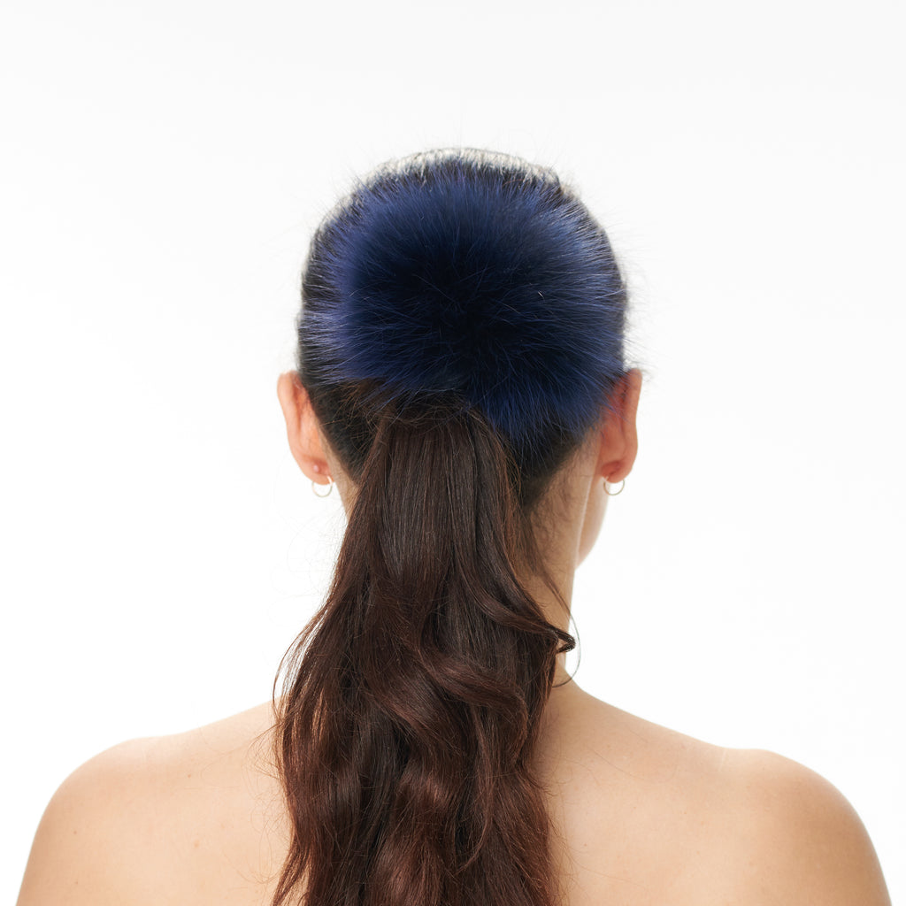 Hally Hair Pom Pom - Blue