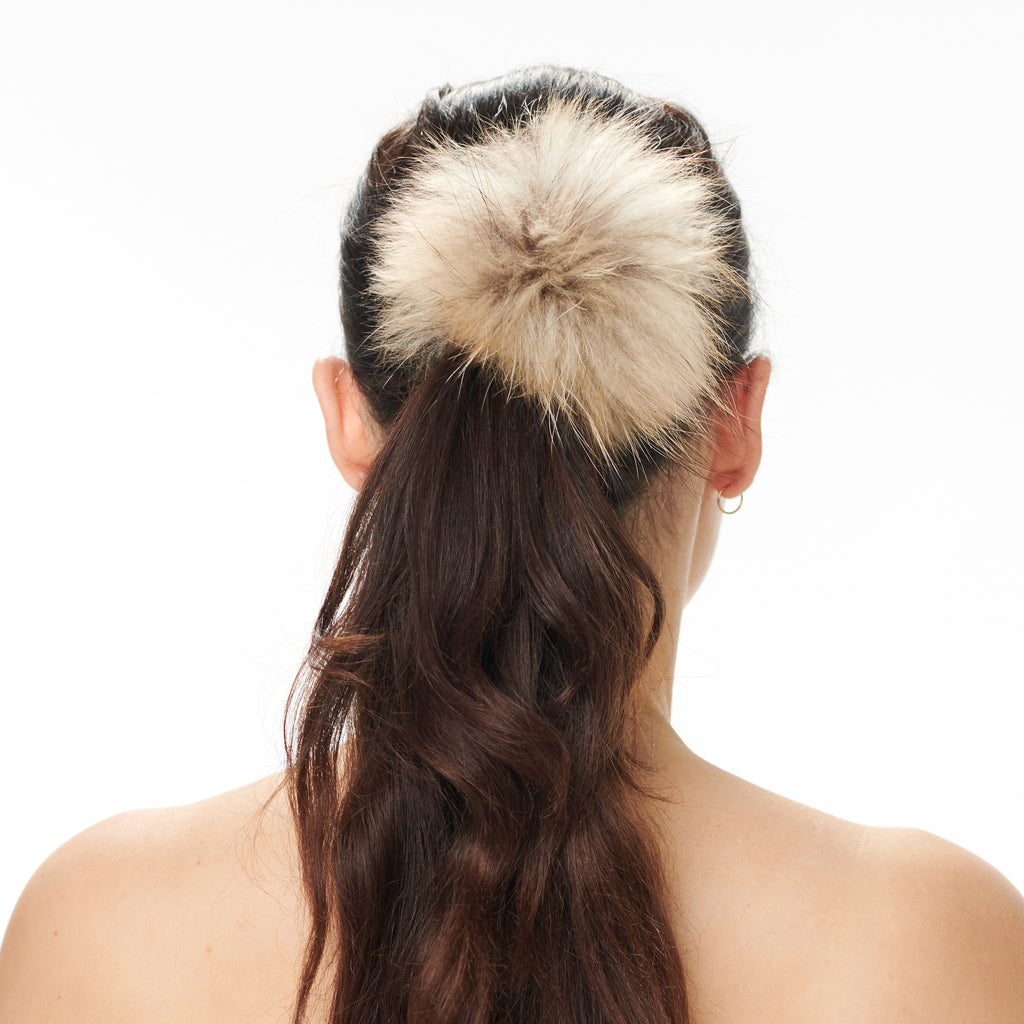 Hally Hair Pom Pom - Natural