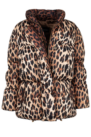 Limited Edition Leopard Puffa